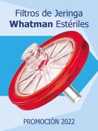 Promoción Whatman Puradisc filtros estériles para jeringa